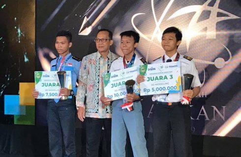 3D Modelling Pertama Kali Dilombakan Dalam Anugerah ATIKAN 2019