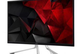 Acer Monitor ET322QK, Monitor 4K Berteknologi HDR10