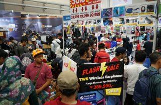 Indocomtech 2019 Raup Transaksi 700 Milyar Dan 186.267 Pengunjung