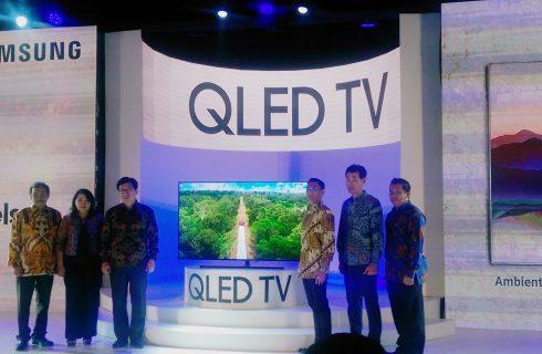 Samsung Perkenalkan Teknologi Ambient Mode Pada Jajaran QLED TV Terbarunya