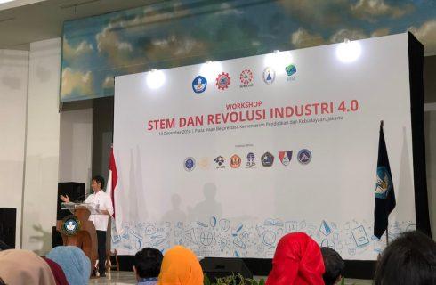 Kemendikbud Sambut Revolusi Industri 4.0 Melalui Praktik Baik STEM dan HOTS