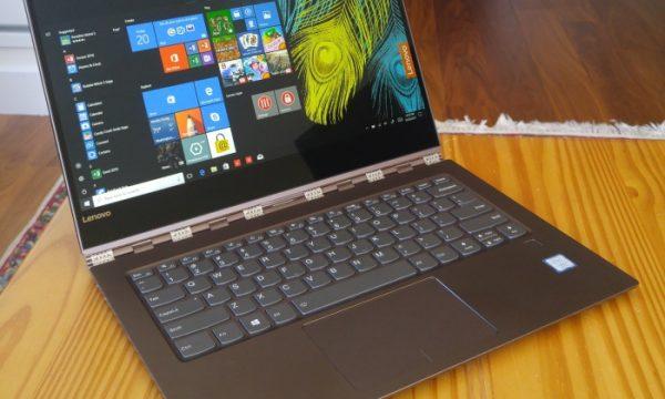 Lenovo Yoga 920, Laptop Convertible Dengan Voice Recognition