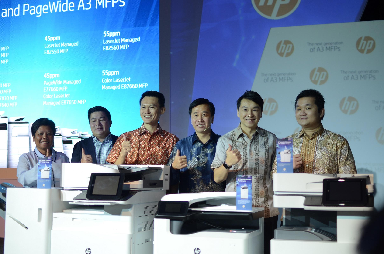 HP Rilis Jajaran Printer Multifungsi A3 Terbaru