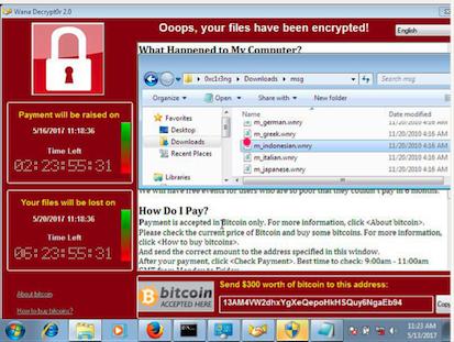 Ransomware WannaCry Menyerang