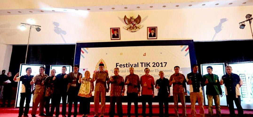 Festival TIK 2017 Banda Aceh Resmi Dibuka