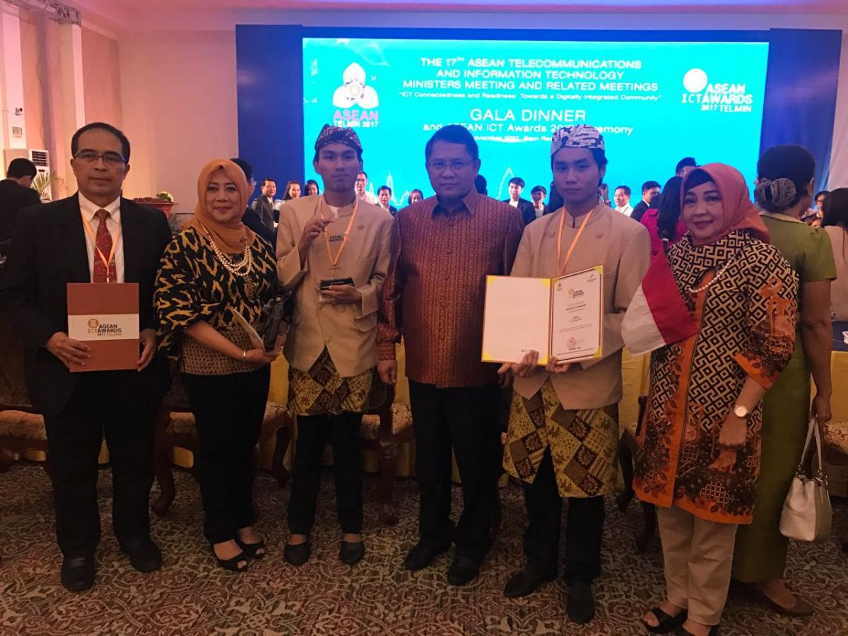Indonesia Raih Gold Winner Di Ajang ASEAN ICT Award 2017