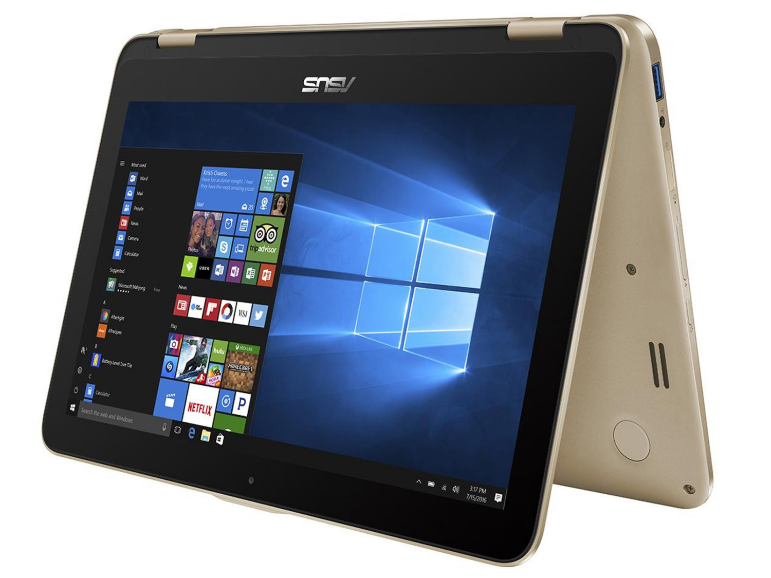 Asus VivoBook Flip TP203, Laptop Convertible Entry Level