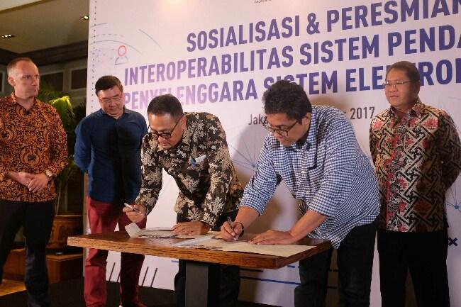 Gandeng idEA Untuk Layanan Pendaftaran Sistem Elektronik