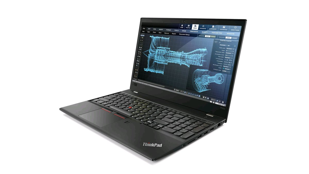 Lenovo ThinkPad P52s, Workstation Profesional Berprosesor Intel Core Generasi 8