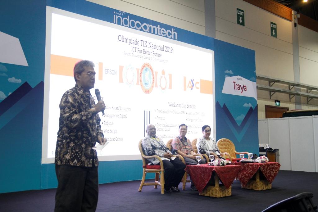Indocomtech Hadirkan Ajang Edukasi Melalui Olimpiade TIK Nasional